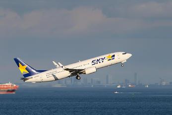 JA737X - Skymark Airlines Boeing 737-800
