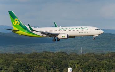 JA03GR - Spring Airlines Japan Boeing 737-800
