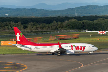 HL8300 - T'Way Air Boeing 737-800