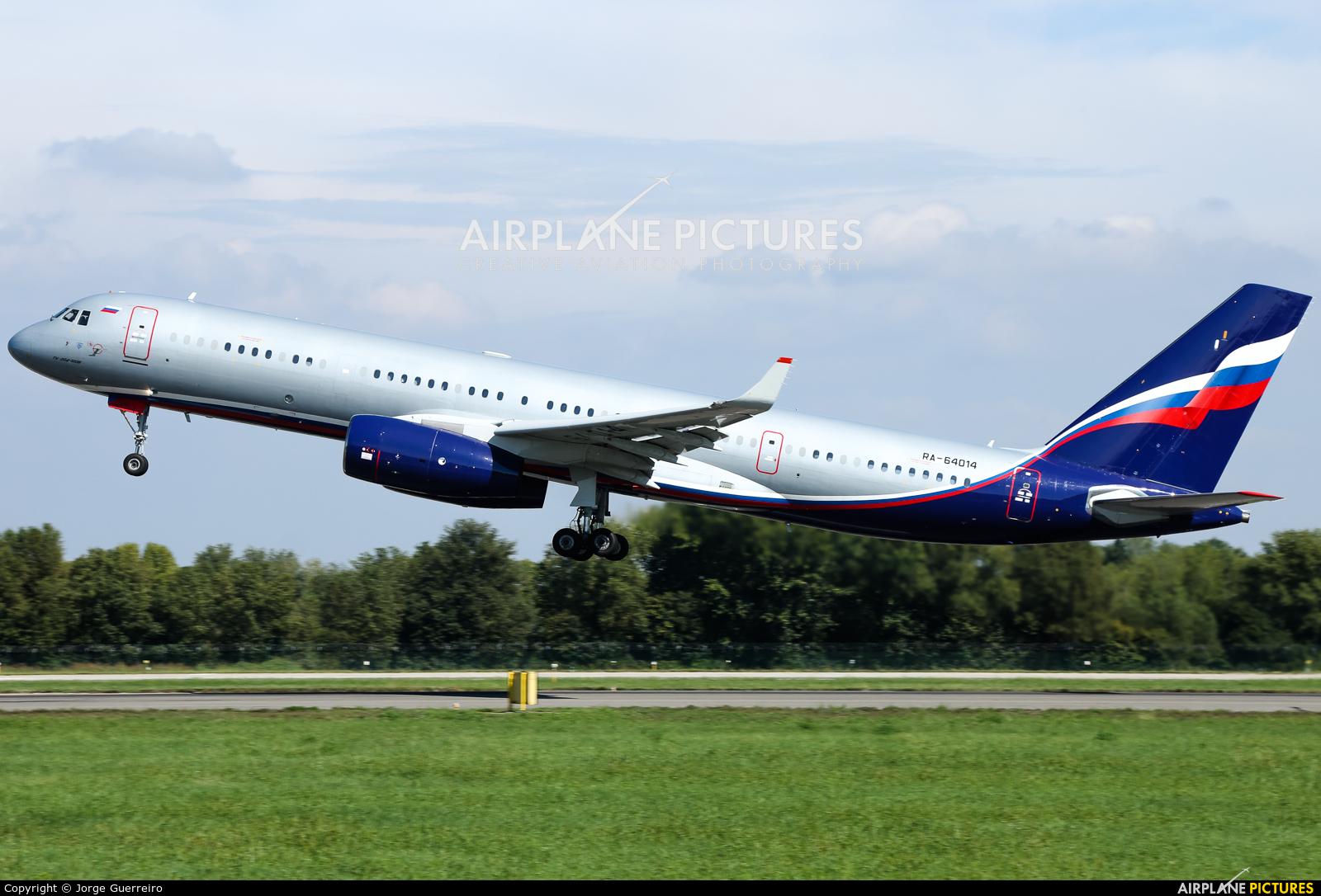 RA-64014 aircraft at Milan - Linate