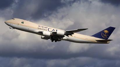 HZ-A13 - Saudi Arabian Cargo Boeing 747-8F