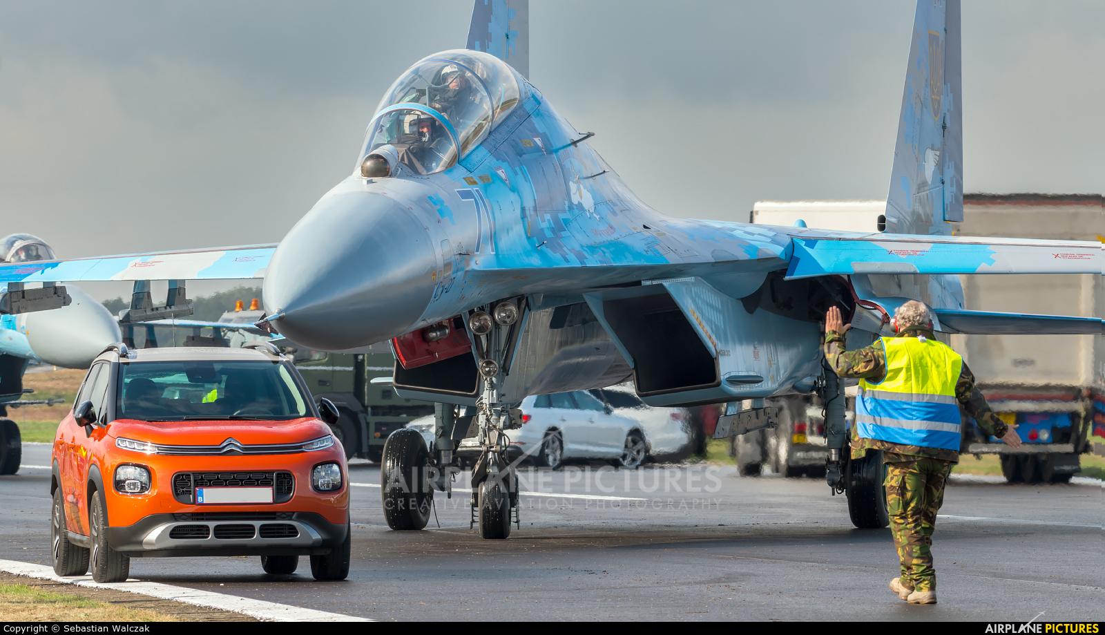 Ukraine - Air Force 71 aircraft at Kleine Brogel