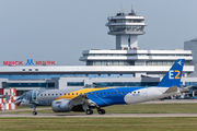 Rare visit of Embraer 190 E2 to Minsk title=