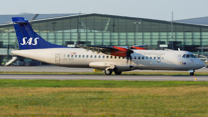 ES-ATF - SAS - Scandinavian Airlines ATR 72 (all models)