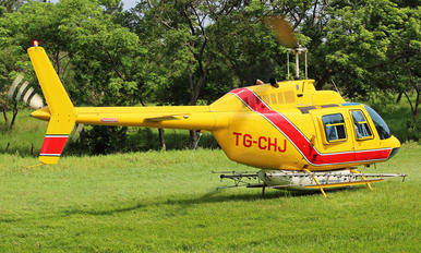 TG-CHJ - Bell helicopter Bell 206B Jetranger III
