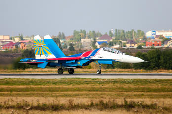 20 - Russia - Air Force Sukhoi Su-27UB