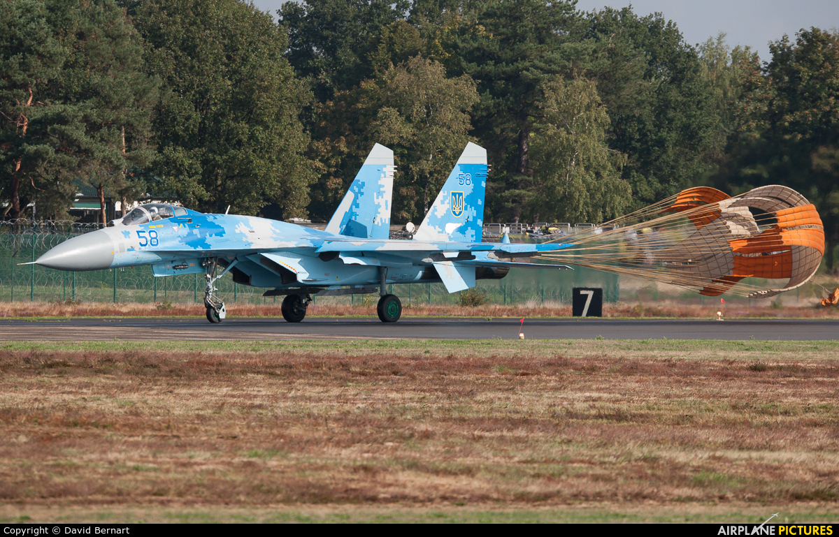 Ukraine - Air Force 58 aircraft at Kleine Brogel