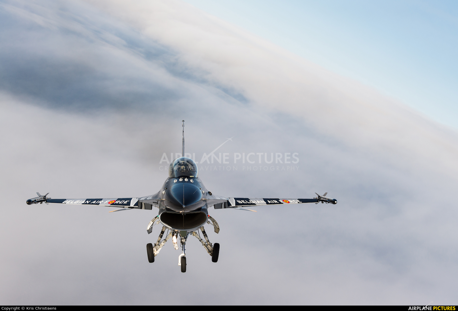 Belgium - Air Force FA-101 aircraft at In Flight - Belgium