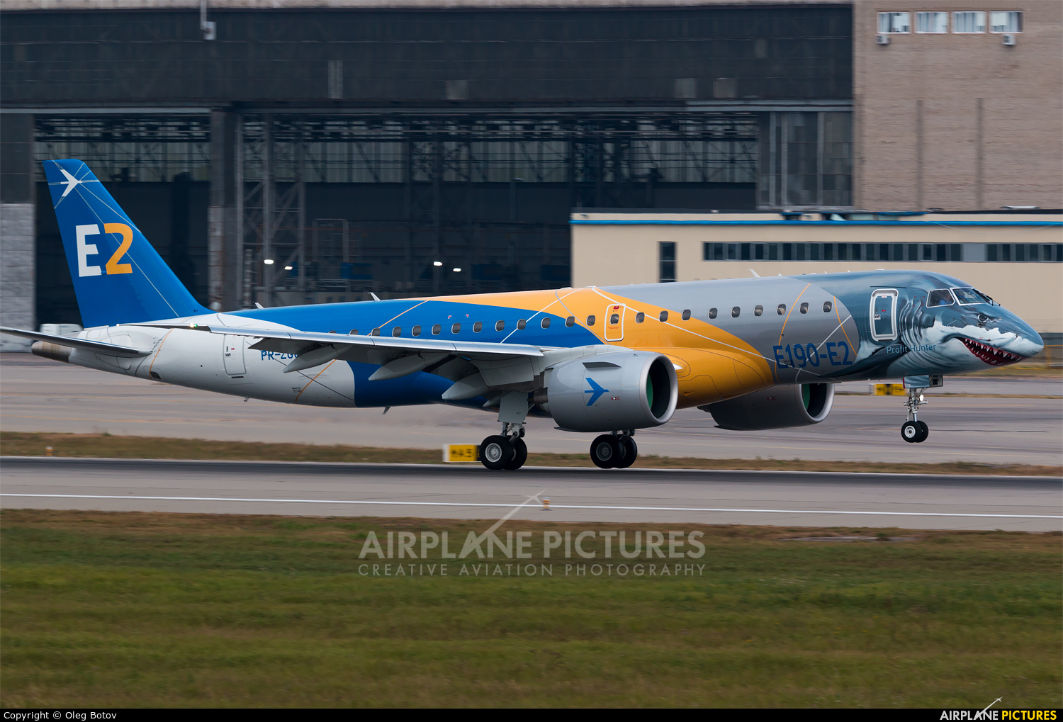Embraer PR-ZGQ aircraft at Moscow - Domodedovo