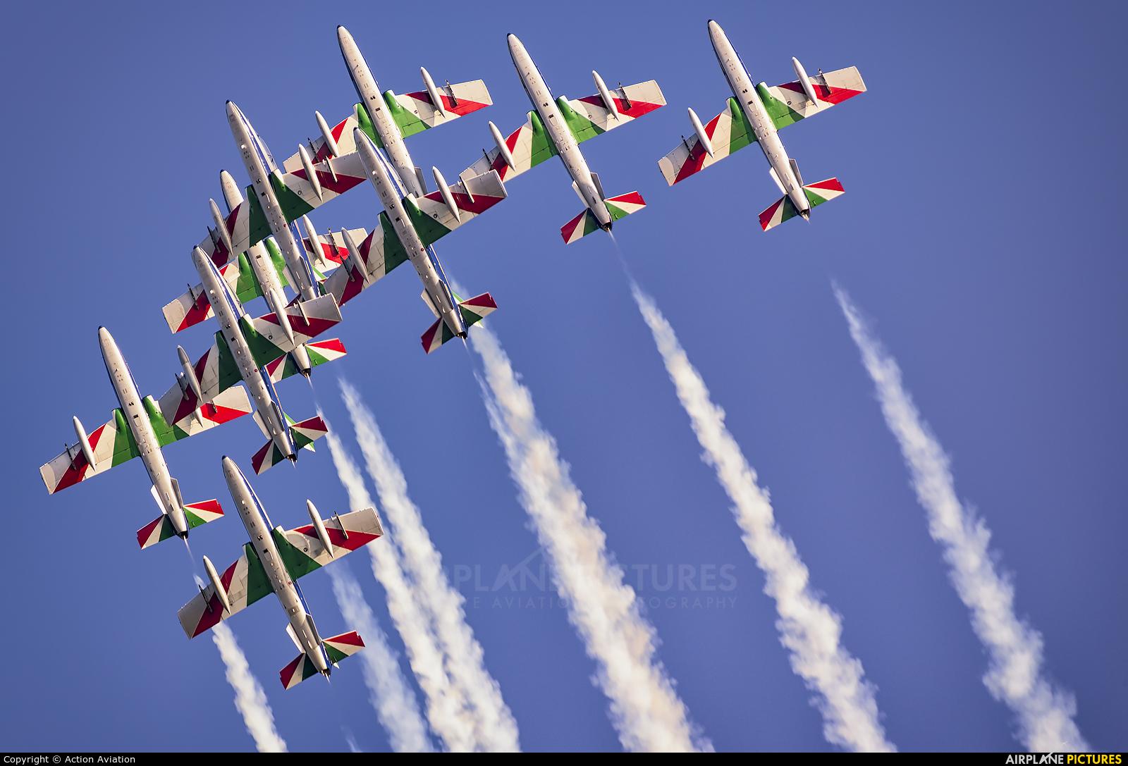 "Italy - Air Force ""Frecce Tricolori"" MM54514 aircraft at Jesolo"