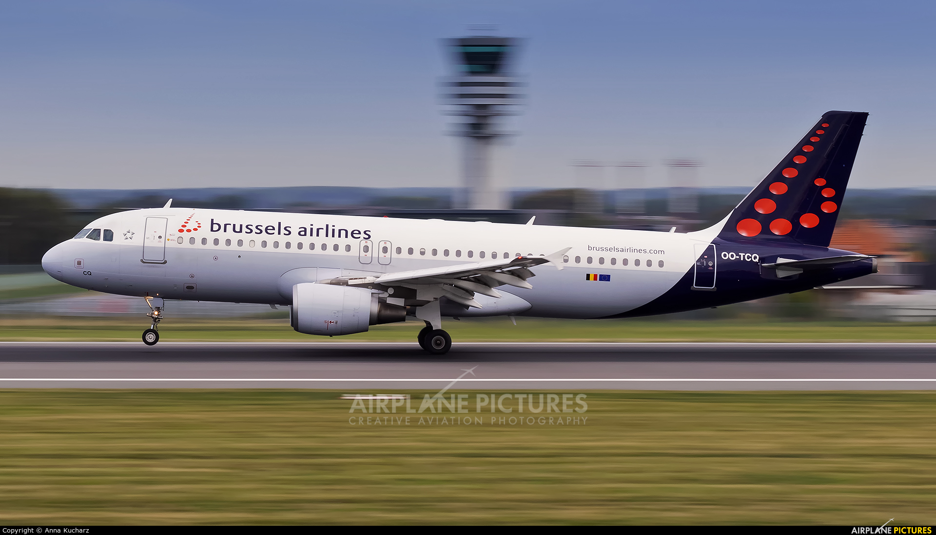 Brussels Airlines OO-TCQ aircraft at Brussels - Zaventem