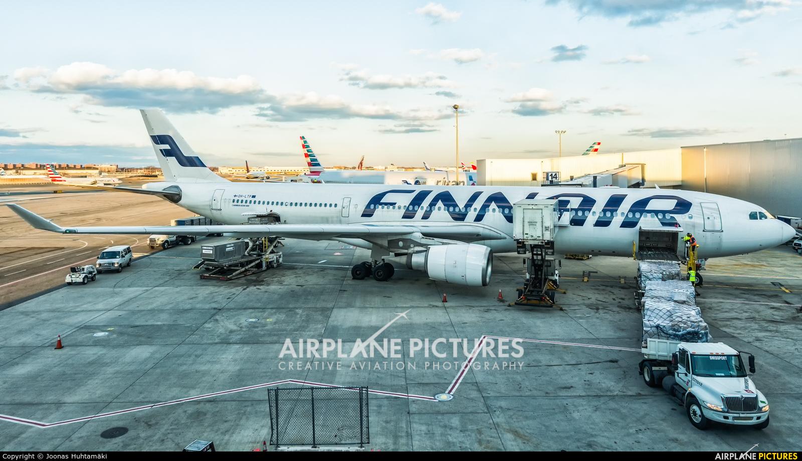 Finnair OH-LTP aircraft at New York - John F. Kennedy Intl