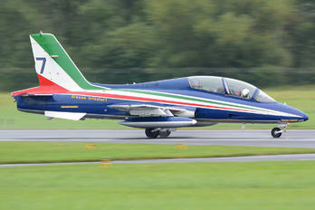 "7 - Italy - Air Force ""Frecce Tricolori"" Aermacchi MB-339-A/PAN"