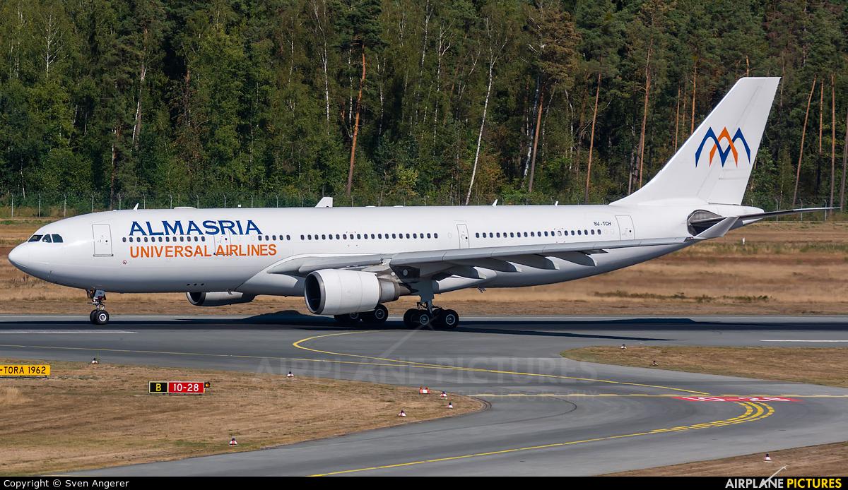 Al Masria SU-TCH aircraft at Nuremberg