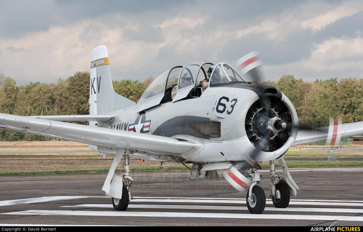Private NX377WW aircraft at Kleine Brogel