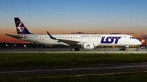 SP-LNI - LOT - Polish Airlines Embraer ERJ-195 (190-200) aircraft