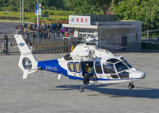21012L - China - Police Airbus Helicopters EC155 B1