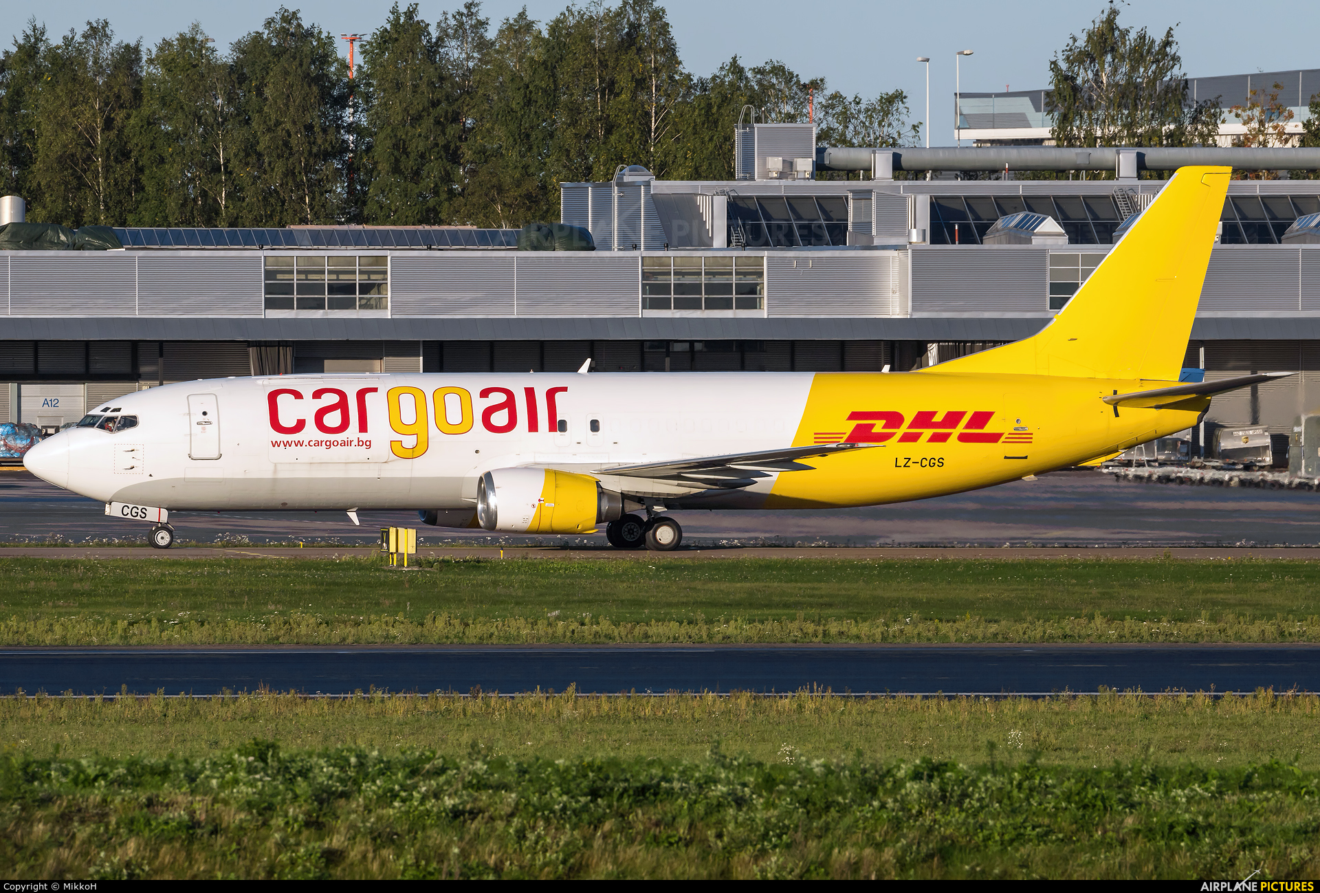 Cargo Air LZ-CGS aircraft at Helsinki - Vantaa