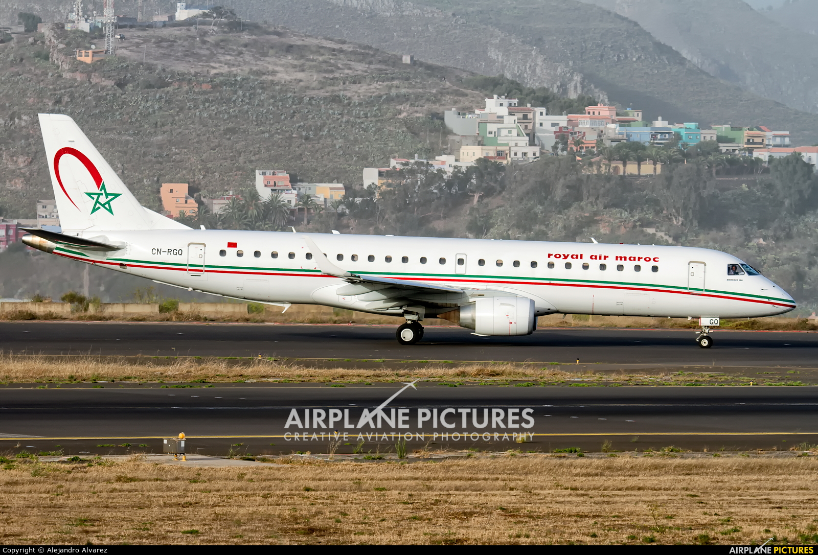 Royal Air Maroc CN-RGQ aircraft at Tenerife Norte - Los Rodeos