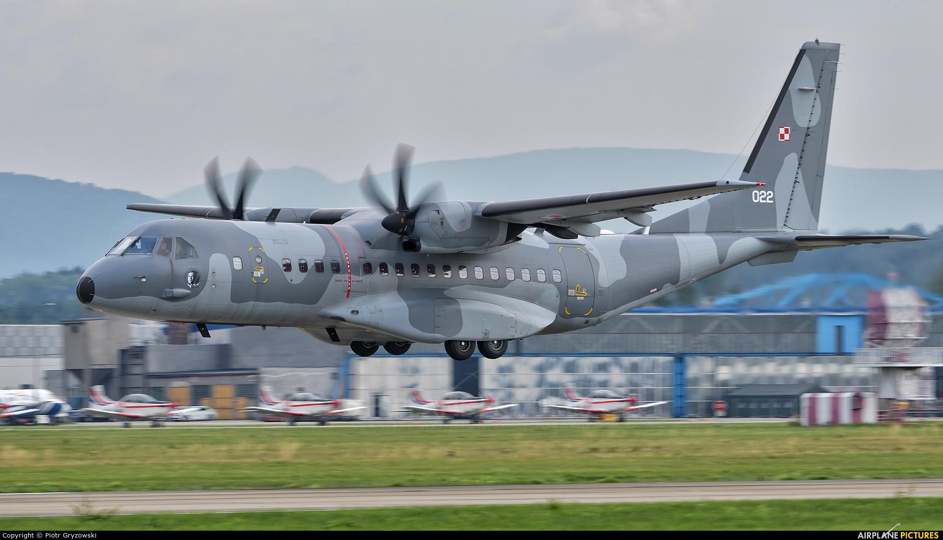 Poland - Air Force 022 aircraft at Ostrava Mošnov