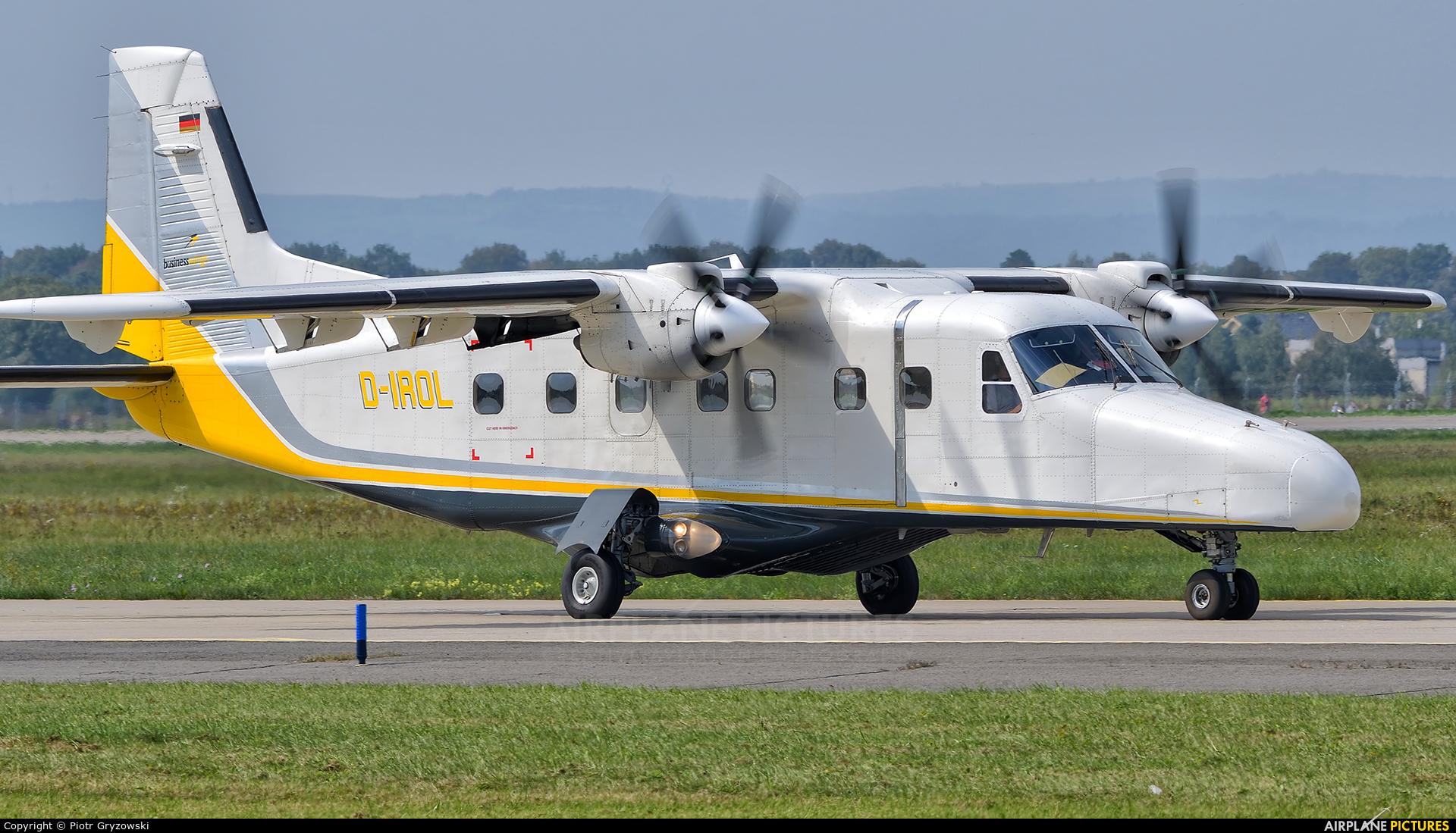 Businesswings D-IROL aircraft at Ostrava Mošnov