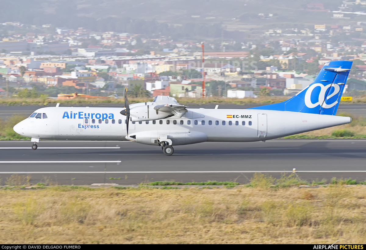 Air Europa EC-MMZ aircraft at Tenerife Norte - Los Rodeos
