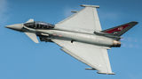 Royal Air Force Eurofighter Typhoon FGR.4 ZK318 at Ostrava Mošnov airport