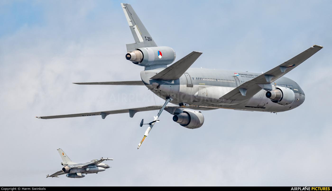 Netherlands - Air Force T-264 aircraft at Kleine Brogel
