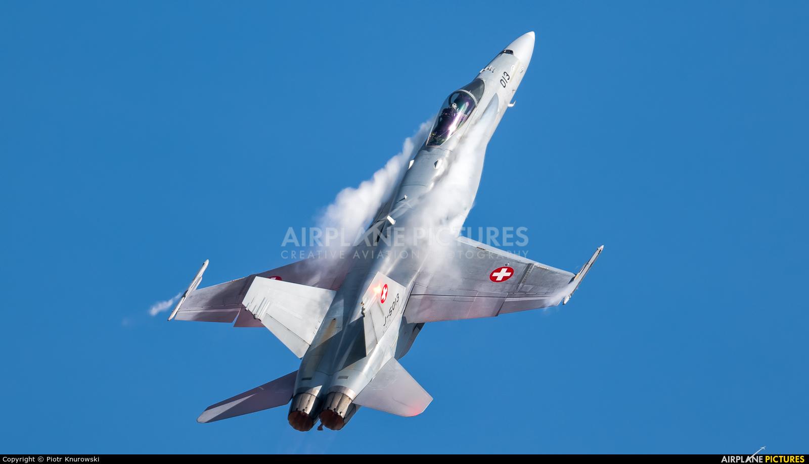 Switzerland - Air Force J-5013 aircraft at Kleine Brogel