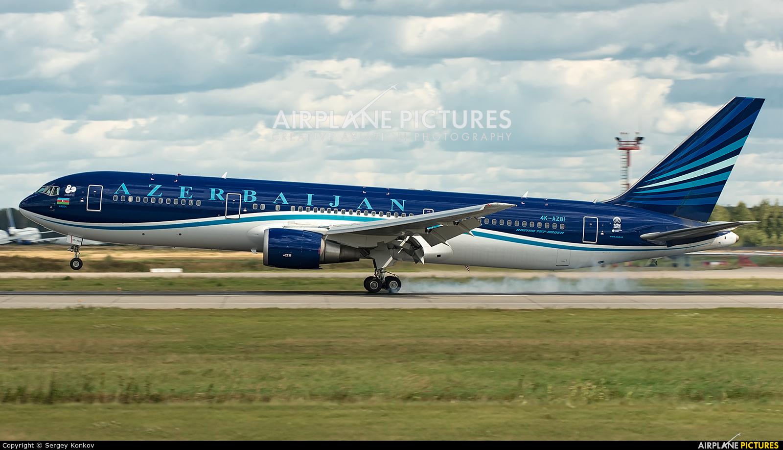 Azerbaijan Airlines 4K-AZ81 aircraft at Moscow - Domodedovo