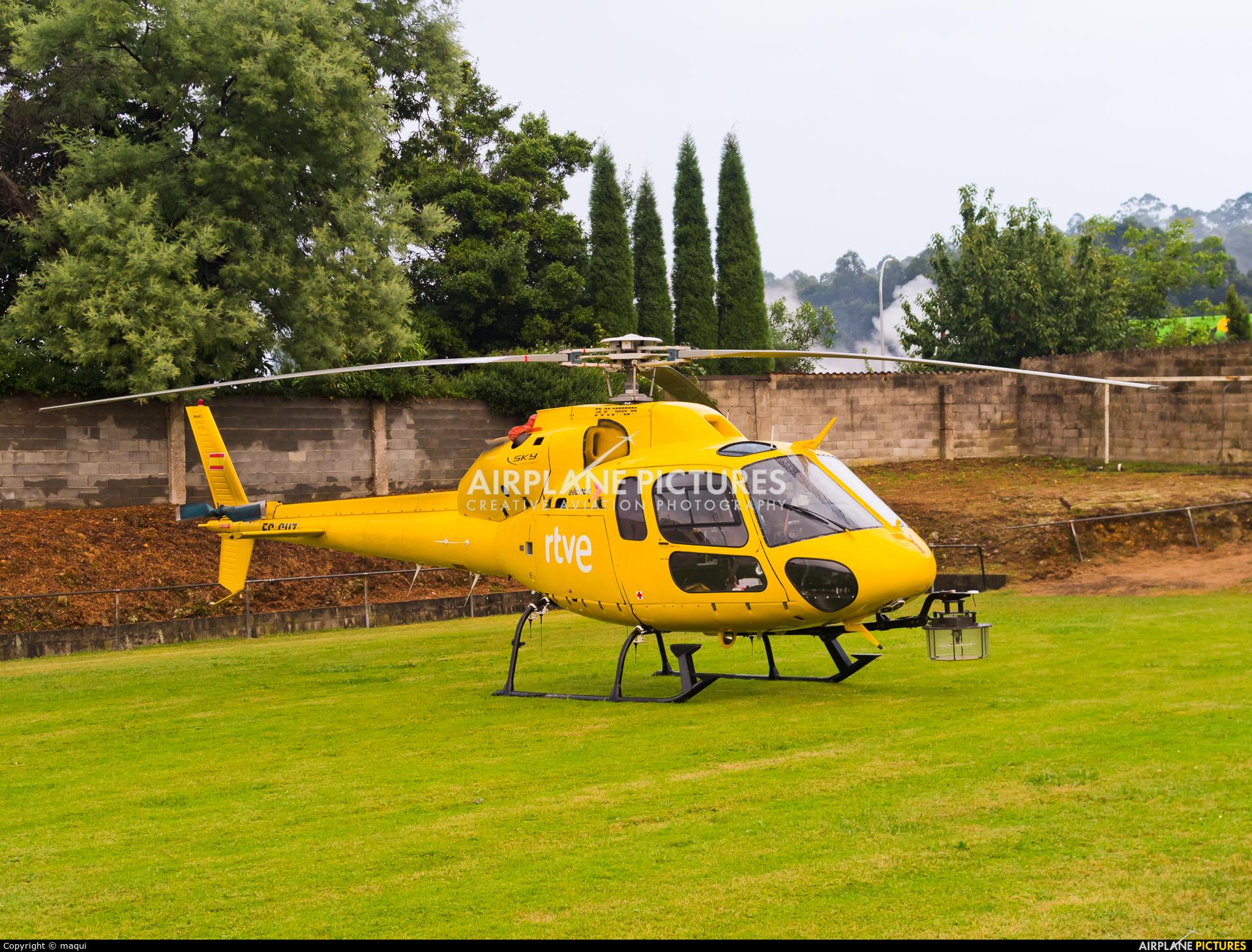 Eliance - Habock Aviation Group EC-GUZ aircraft at Lugo - Off Airport