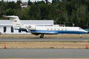 USAF Gulfstream G550 visited Seattle Boeing Field title=
