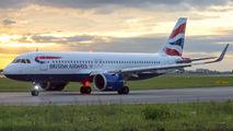 G-TTNA - British Airways Airbus A320 NEO aircraft