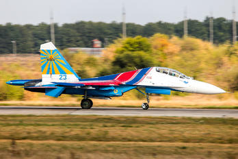 23 - Russia - Air Force Sukhoi Su-27UB