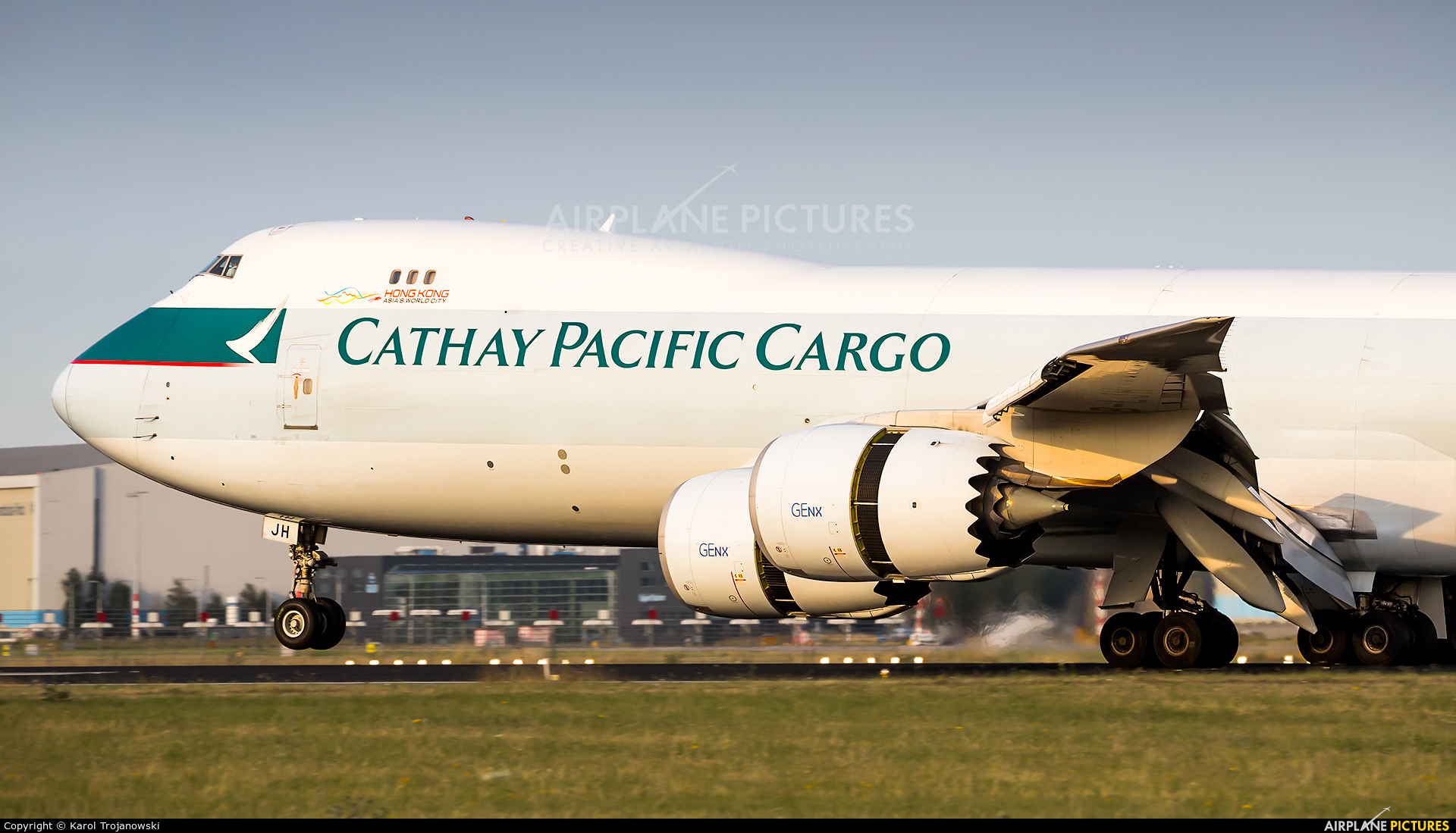Cathay Pacific Cargo B-LJH aircraft at Amsterdam - Schiphol
