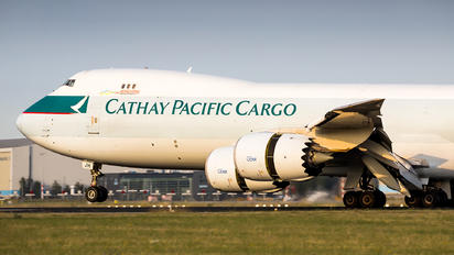 B-LJH - Cathay Pacific Cargo Boeing 747-8F