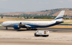 HiFly Airbus A340-500 visited Madrid