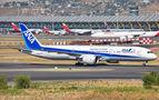 All Nippon Airways Boeing 787-9 visited Madrid