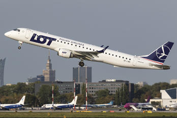 SP-LNH - LOT - Polish Airlines Embraer ERJ-195 (190-200)