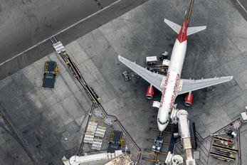 N283VA - Virgin America Airbus A320