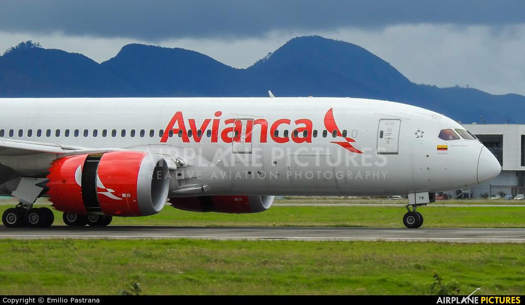 Avianca N791AV aircraft at Bogotá - Eldorado Intl