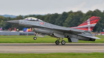 E-607 - Denmark - Air Force General Dynamics F-16A Fighting Falcon aircraft