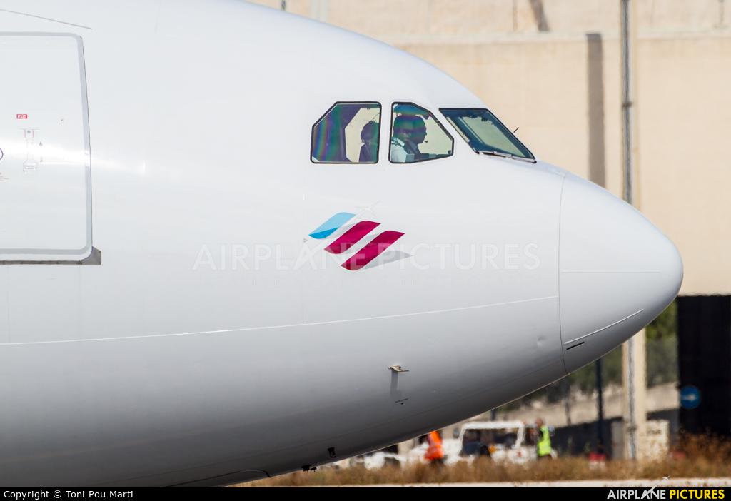 Eurowings D-AXGD aircraft at Palma de Mallorca