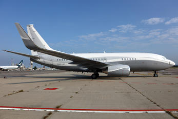 N834BZ - Private Boeing 737-700 BBJ