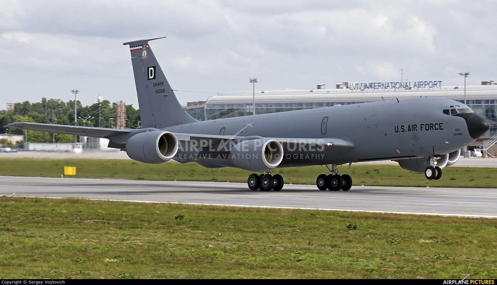 USA - Air Force 61-0288 aircraft at Lviv Danylo Halytskyi International Airport (Lwów Skniłów)
