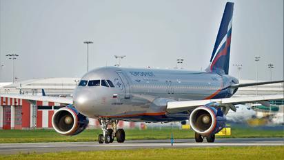 VQ-BCC - Aeroflot Airbus A320