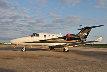 G-ORAW - Private Cessna 525 CitationJet M2