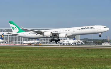 EP-MMH - Mahan Air Airbus A340-600