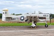 NX377WW - Private North American T-28B Trojan aircraft