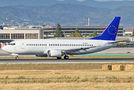 Rare visit of Bulgaria Air B733 to Malaga